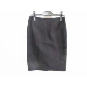 【中古】 アンタイトル UNTITLED スカート サイズ1 S レディース 黒