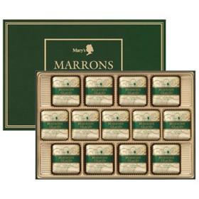 メリーチョコレート マロングラッセ 13個入り