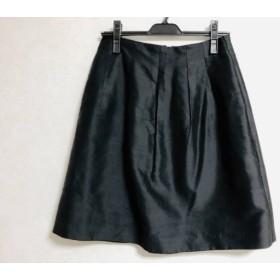 【中古】 トゥモローランド TOMORROWLAND スカート サイズ36 S レディース 黒