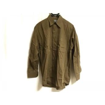 【中古】 ケンゾー KENZO 長袖シャツ サイズ2 M メンズ ダークブラウン HOMME