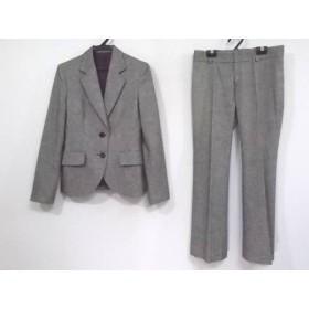 【中古】 アンタイトル UNTITLED レディースパンツスーツ サイズ2 M レディース 黒 白