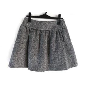 【中古】 アニエスベー agnes b スカート サイズ38 M レディース グレー