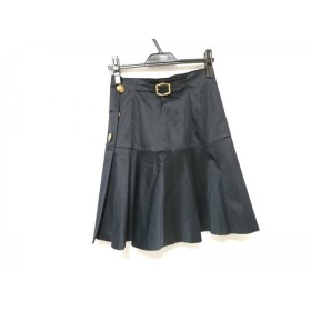 【中古】 エポカ EPOCA 巻きスカート サイズ40 M レディース 美品 黒
