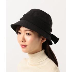【オンワード】 Hat Homes(ハットホームズ) 【WOMEN】ミルサ ピーチ タフタ クロッシェ 黒 57.5cm レディース