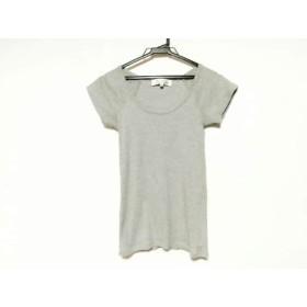 【中古】 アダムエロペ Adam et Rope 半袖Tシャツ サイズ38 M レディース グレー