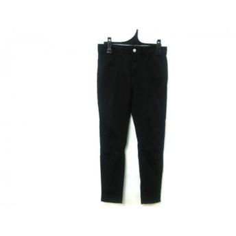 【中古】 アズールバイマウジー AZUL by moussy パンツ サイズ155/66A レディース 黒