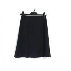 【中古】 ニジュウサンク 23区 スカート サイズ30 XS レディース 黒