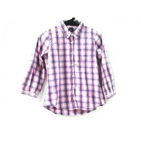 【中古】 ギャップ GAP 長袖シャツ サイズ160 ユニセックス ピンク マルチ
