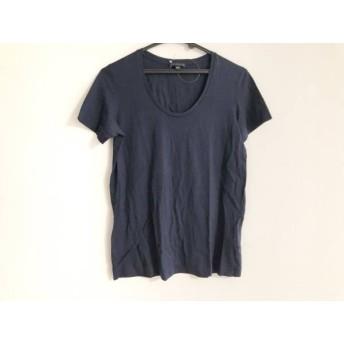 【中古】 セオリー theory 半袖Tシャツ サイズS レディース ダークネイビー