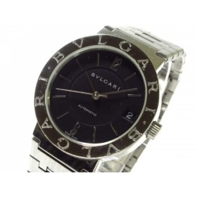 【中古】 ブルガリ BVLGARI 腕時計 ブルガリブルガリ BB33SS メンズ 黒