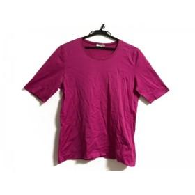 【中古】 エスカーダ ESCADA 半袖Tシャツ サイズ36 M レディース ピンク