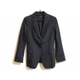 【中古】 プラスジェイ +J ジャケット サイズS レディース 黒 羊毛モヘヤ