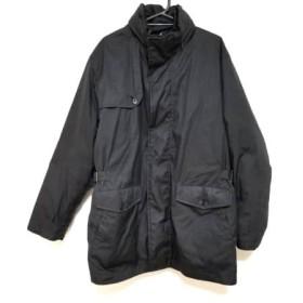 【中古】 ニューヨーカー NEW YORKER コート サイズL メンズ 黒 冬物