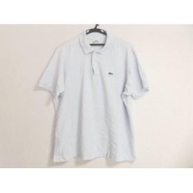 【中古】 ラコステ Lacoste 半袖ポロシャツ サイズ6 メンズ ライトブルー