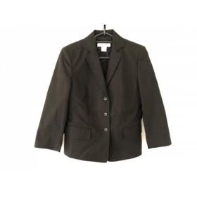 【中古】 カルバンクライン CalvinKlein ジャケット サイズ2 M レディース 美品 黒
