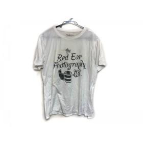 【中古】 ポールスミスレッドイヤー PaulSmith RED EAR 半袖Tシャツ メンズ アイボリー ダークグレー