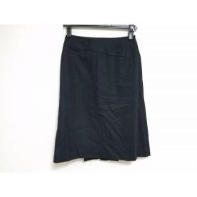 【中古】 コムサデモード COMME CA DU MODE スカート サイズS レディース 黒