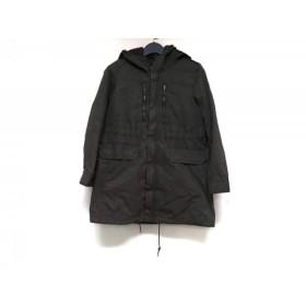 【中古】 マカフィ MACPHEE コート サイズ38 M レディース カーキ 春・秋物