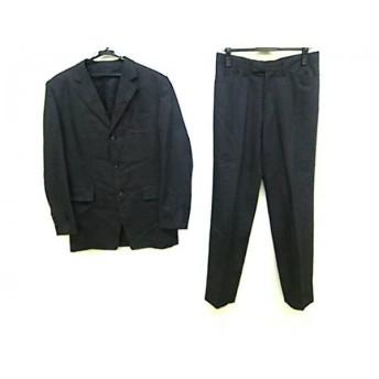 【中古】 5351プールオム 5351 PourLesHomme シングルスーツ サイズ3 L メンズ ダークグレー 肩パッド