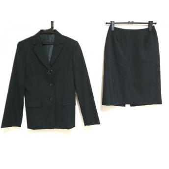 【中古】 アールユー ru スカートスーツ レディース 黒