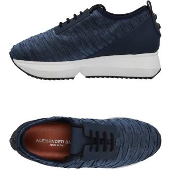 《セール開催中》ALEXANDER SMITH レディース スニーカー&テニスシューズ(ローカット) ブルー 36 紡績繊維