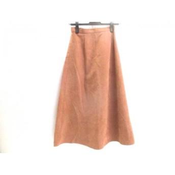 【中古】 ムルーア MURUA ロングスカート サイズ1(S) レディース ブラウン