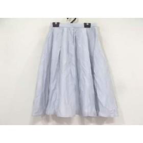 【中古】 アプワイザーリッシェ Apuweiser-riche スカート サイズ0 XS レディース ライトブルー