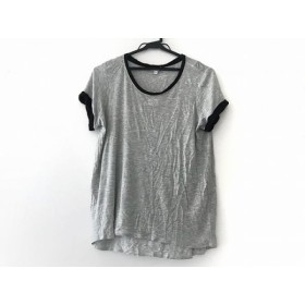 【中古】 ヴィンス VINCE 半袖Tシャツ サイズM M レディース グレー 黒