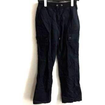 【中古】 トミーヒルフィガー TOMMY HILFIGER パンツ サイズS レディース ダークネイビー 黒