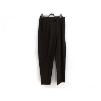 【中古】 ミズイロインド mizuiro ind パンツ サイズ1 S レディース ダークブラウン