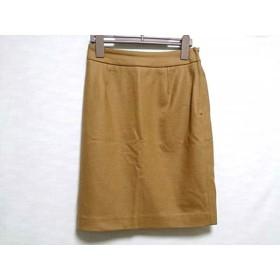 【中古】 ガリャルダガランテ GALLARDAGALANTE スカート サイズ0 XS レディース 美品 ライトブラウン