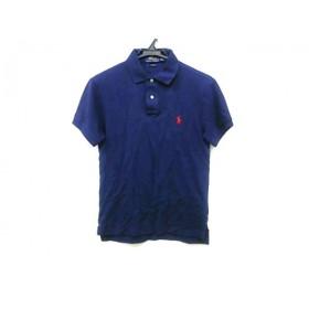 【中古】 ポロラルフローレン POLObyRalphLauren 半袖ポロシャツ サイズS170/92A レディース ネイビー