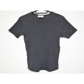 【中古】 アニエスベー agnes b 半袖Tシャツ サイズ1 S レディース ダークグレー
