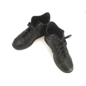 【中古】 ルコライン RUCO LINE スニーカー 36 レディース 黒 型押し加工 合皮