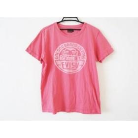 【中古】 エヴィス EVISU 半袖Tシャツ サイズM レディース ピンク