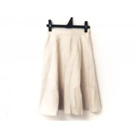 【中古】 ニジュウサンク 23区 スカート サイズ30 XS レディース アイボリー