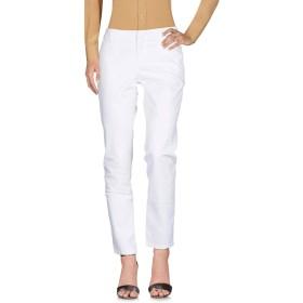 《セール開催中》BLAUER レディース パンツ ホワイト 30 コットン 97% / ポリウレタン 3%