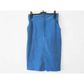 【中古】 オープニングセレモニー OPENING CEREMONY スカート サイズ8 M レディース ブルー