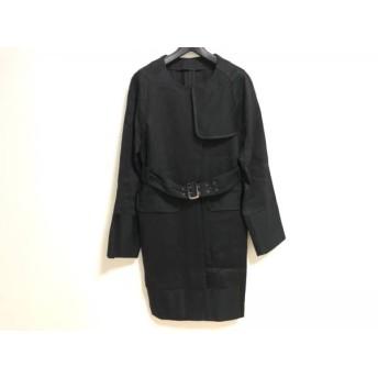 【中古】 シンゾーン Shinzone コート サイズ36 S レディース 黒 春・秋物