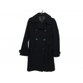 【中古】 クローラ CROLLA コート サイズ36 S レディース 黒 冬物