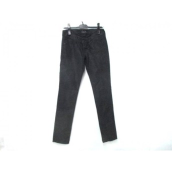 【中古】 マウジー moussy パンツ サイズ26 S レディース 黒