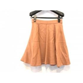 【中古】 エストネーション ESTNATION スカート サイズ38 M レディース ブラウン bis