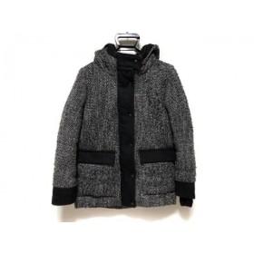 【中古】 スライ SLY ダウンコート サイズ1 S レディース 黒 白 冬物