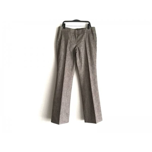 【中古】 セオリー theory パンツ サイズ4 S レディース ダークブラウン