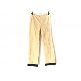 【中古】 ポールカ PAULEKA パンツ サイズ36 S レディース ベージュ 黒