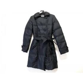 【中古】 ミッシェルクラン MICHELKLEIN ダウンコート サイズ38 M レディース 黒 冬物