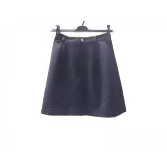【中古】 ノーブランド ミニスカート サイズS レディース 黒