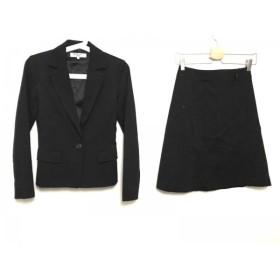【中古】 ナチュラルビューティー ベーシック スカートスーツ サイズS レディース 黒