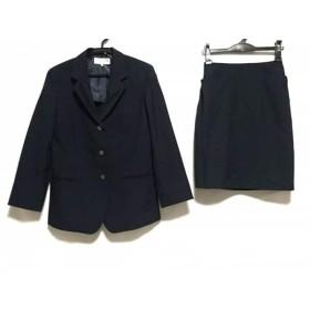 【中古】 ヴァンドゥ オクトーブル 22OCTOBRE スカートスーツ サイズ38 M レディース ネイビー