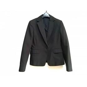 【中古】 ユナイテッドアローズ UNITED ARROWS ジャケット サイズ40 M レディース 黒